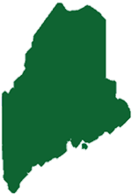 Maine Battery logo