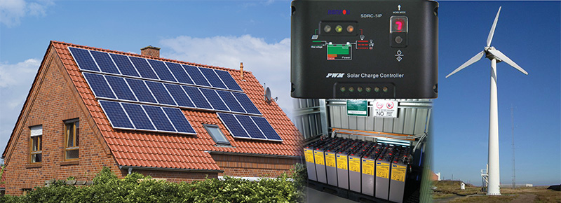 Solar - Wind - Renewable Energy Batteries