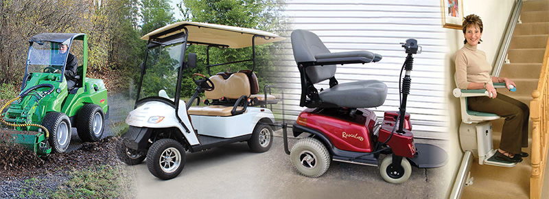 Wheelchair, Golf Cart & Utility Vehicle Batteries